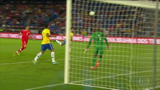No último jogo contra o Brasil, em 2013, a vitória foi dos suíços: 1 x 0