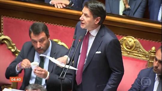 Presidente italiano aceita pedido de renúncia do primeiro-ministro, Giuseppe Conte