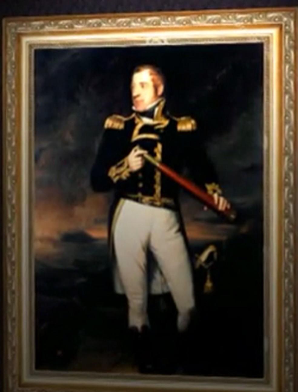 Thomas Cochrane teve papel fundamental na história do Maranhão (Foto: Reprodução/TV Mirante)