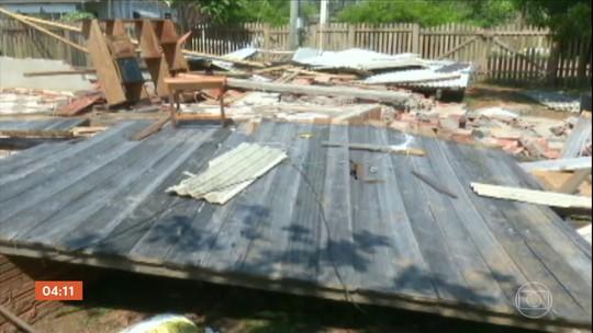 Cidade de Capixaba (AC) está em situação de emergência por causa de vendaval
