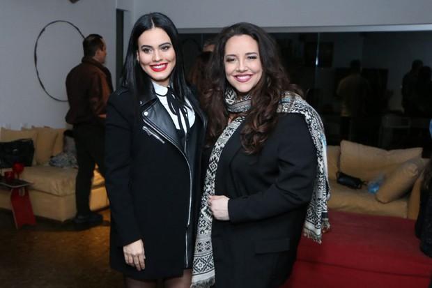 Letícia Lima e Ana Carolina (Foto: Daniel Pinheiro/AgNews)