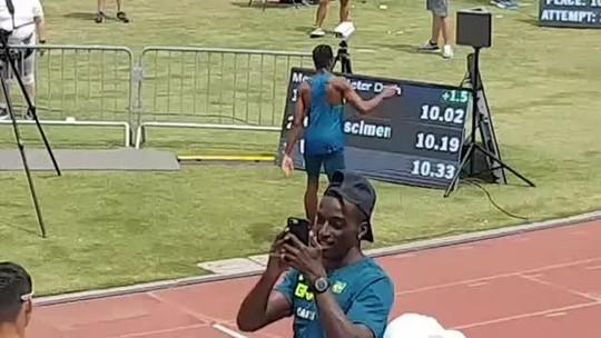 Nos EUA, Paulo André faz 10s02 nos 100m e repete melhor marca da carreira