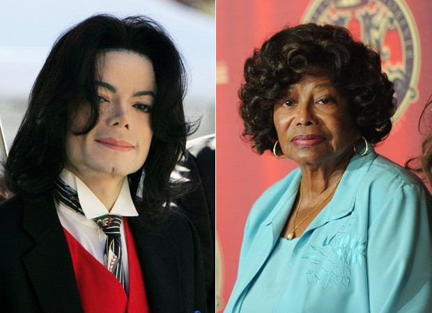 Michael e Katherine Jackson (Foto: Getty Images)