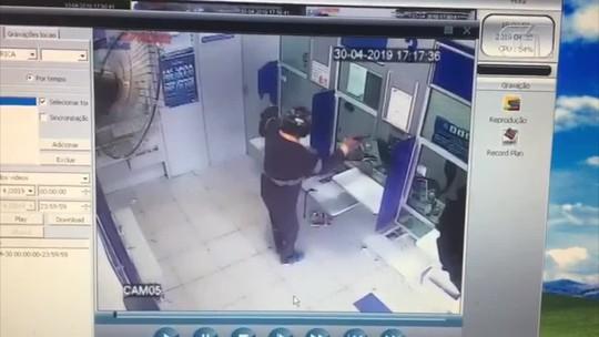 Criminosos tentam assaltar casa lotérica em Montalvânia; veja vídeo