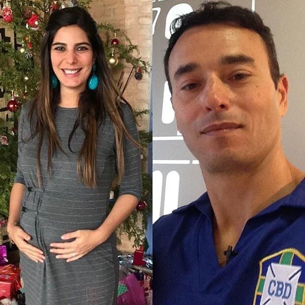 Andréia Sadi e André Rizek (Foto: Reprodução/Instagram)
