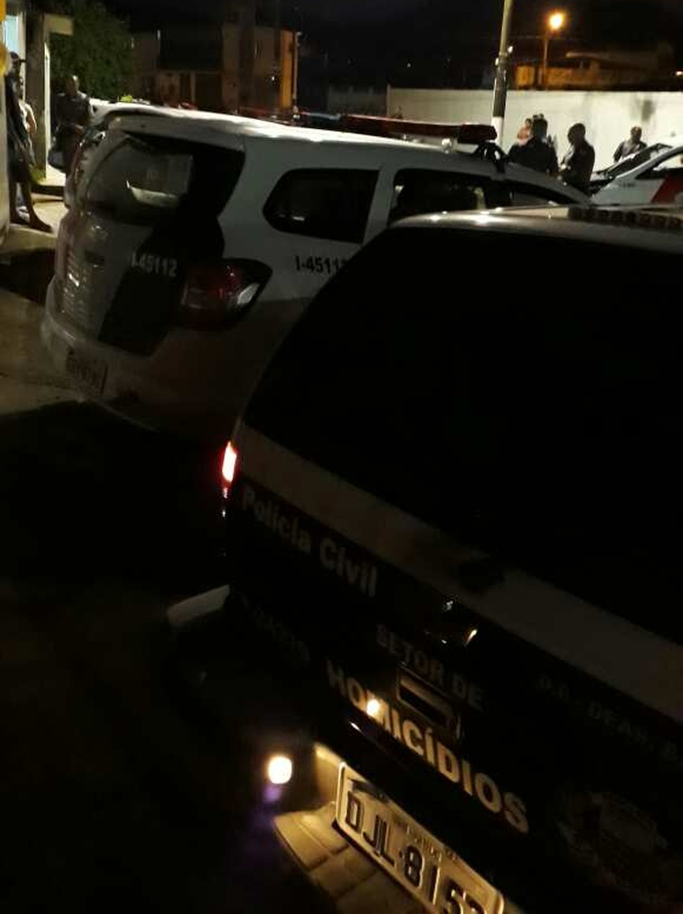 Policial Militar foi morto a pauladas dentro da própria casa em Praia Grande (SP). (Foto: Reprodução/ PG Mil Grau)