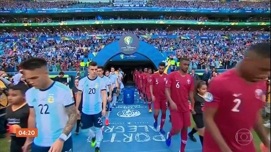 Colômbia vence o Paraguai por 1 a 0 pela Copa América