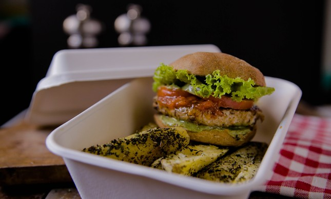 Prato da Free Soul Food: empresa quer ampliar o aproveitamento total de alimentos