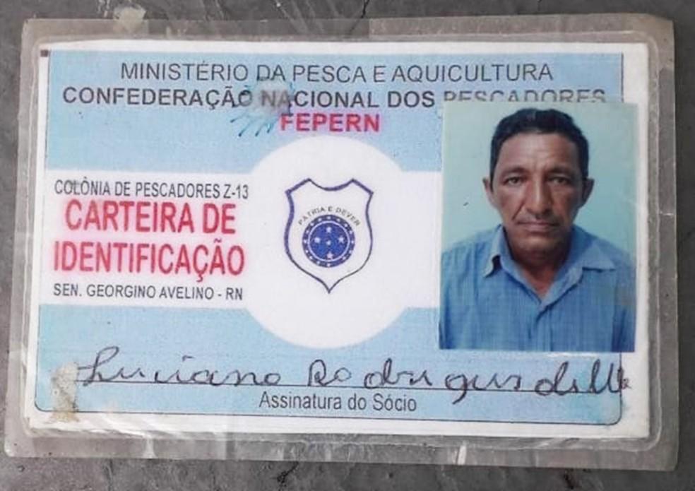 Luciano Rodrigues de Melo tinha 58 anos — Foto: Inter TV Cabugi/Reprodução