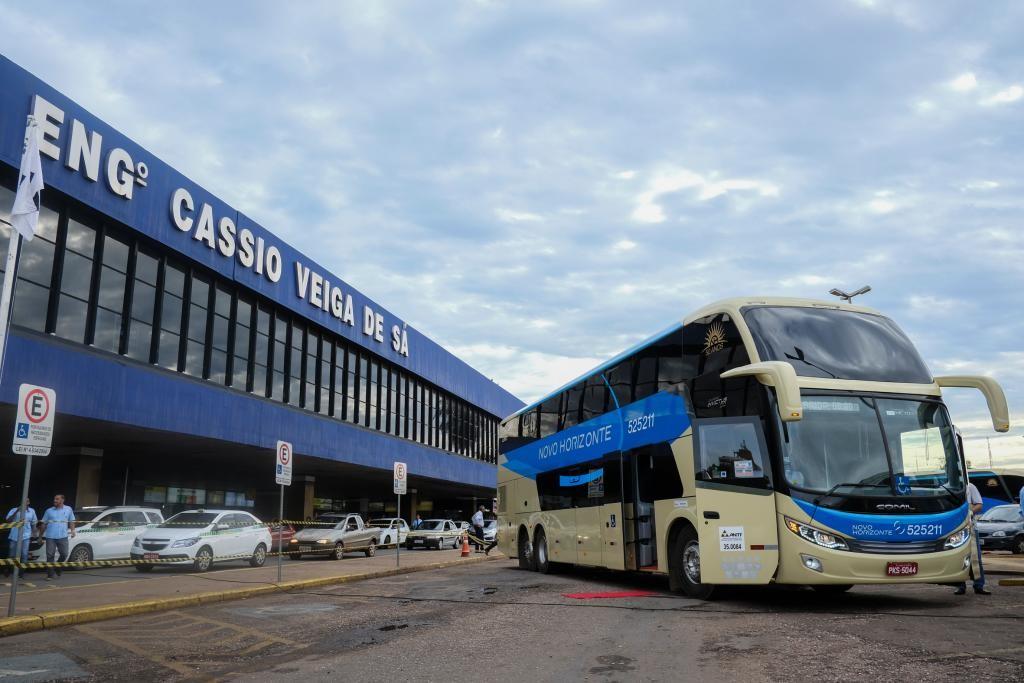 Movimento de passageiros na rodoviária de Cuiabá aumenta 40% durante o Carnaval 2020