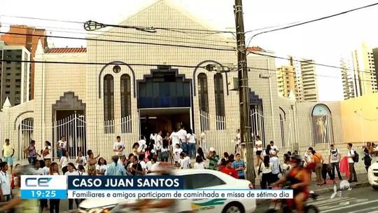 Missa e protesto com pedido de justiça para o caso Juan Santos