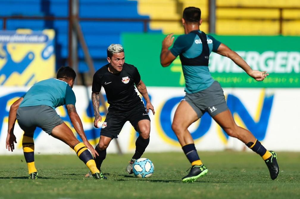 Artur brilhou no Bahia e foi contratado pelo Bragantino — Foto: Ari Ferreira/Red Bull Bragantino
