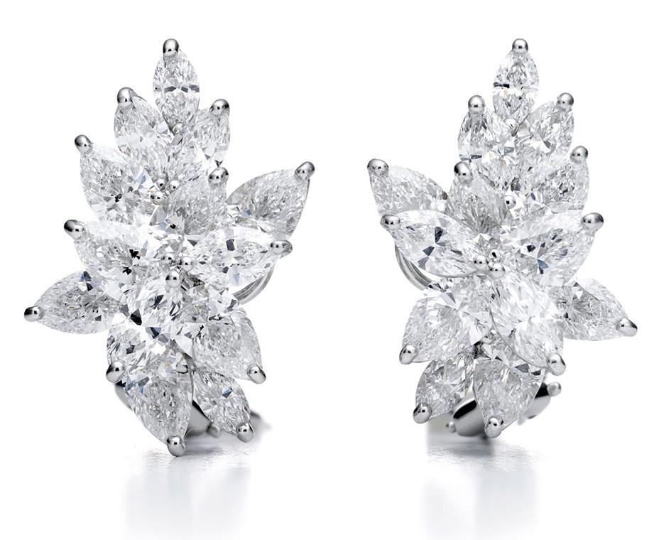 Brincos de Lady Gaga (Foto: Divulgação/Tiffany & Co)
