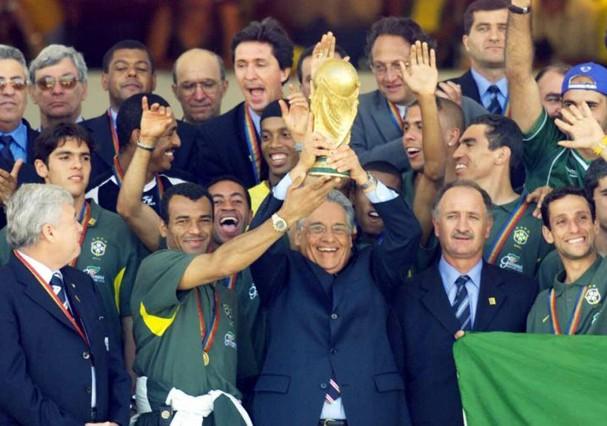 Fernando Henrique Cardoso era presidente do Brasil (Foto: Arquivo FHC)