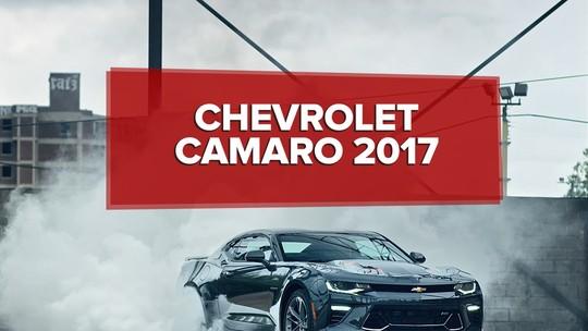 Chevrolet divulga preços do Camaro; esportivo custa até R$ 338 mil