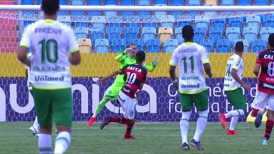 Atlético-GO fica no empate contra a Chapecoense e é rebaixado para a Série B