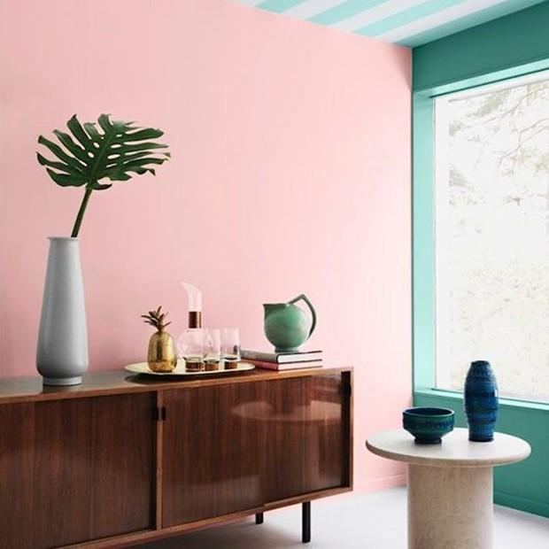 Cores na sala de estar: mais de 160 ideias para inspirar (Foto: Reprodução)
