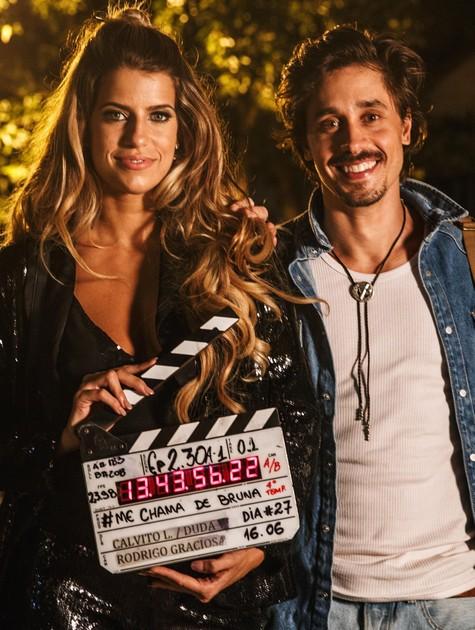 Maria Bopp e Ivan Mendes  (Foto: Divulgação)