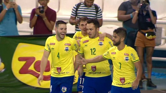 Brasil 8 x 2 Argentina