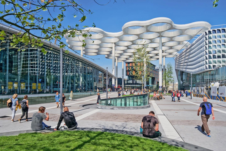 Maior estacionamento de bicicleta do mundo é inaugurado na Holanda (Foto: Petra Appelhof/Divulgação)