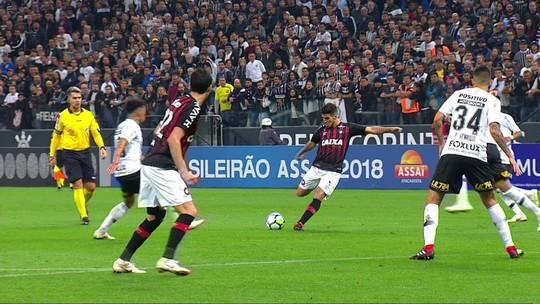 Melhores momentos: Corinthians 0 x 0 Atlético-PR pela 17ª rodada do Campeonato Brasileiro