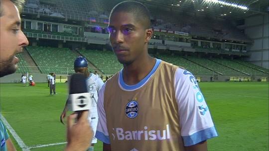 Jean Pyerre diz o Independência dá sorte para o Grêmio