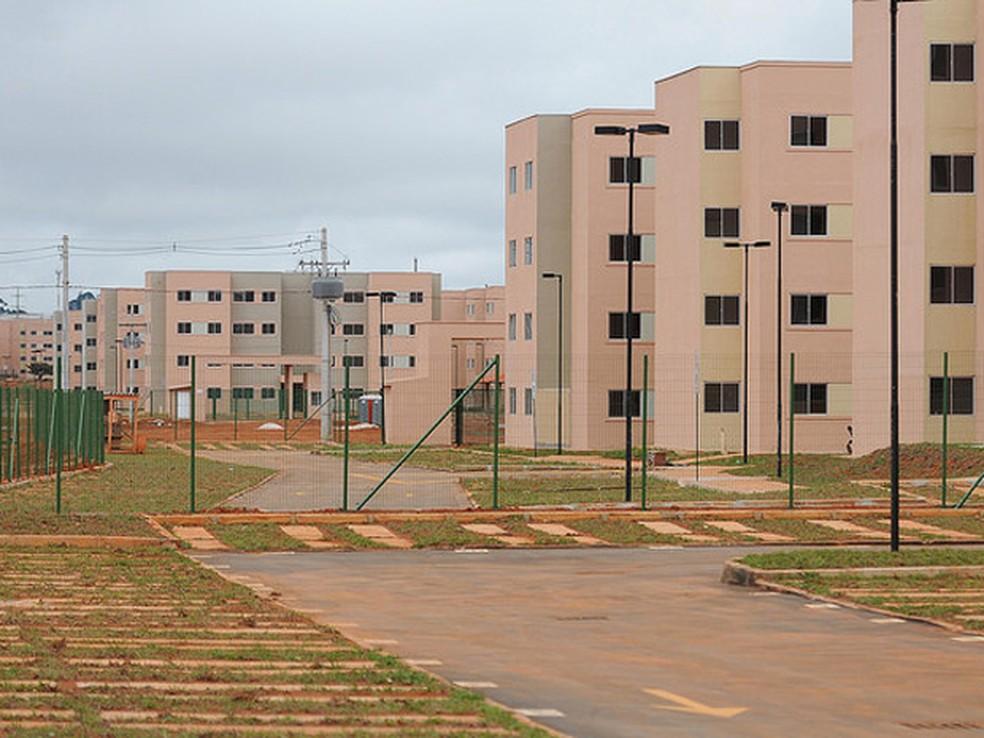 Residencial Parque do Riacho, no Riacho Fundo II (Foto: Dênio Simões/Agência Brasília/Reprodução)