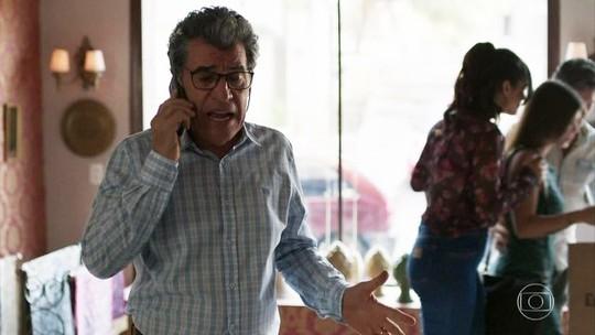 Miguel dá a loja e a casa da família como garantia após dívida acumulada