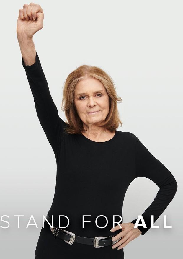 Gloria Steinem para a campanha do lip balm (Foto: Reprodução/Instagram)