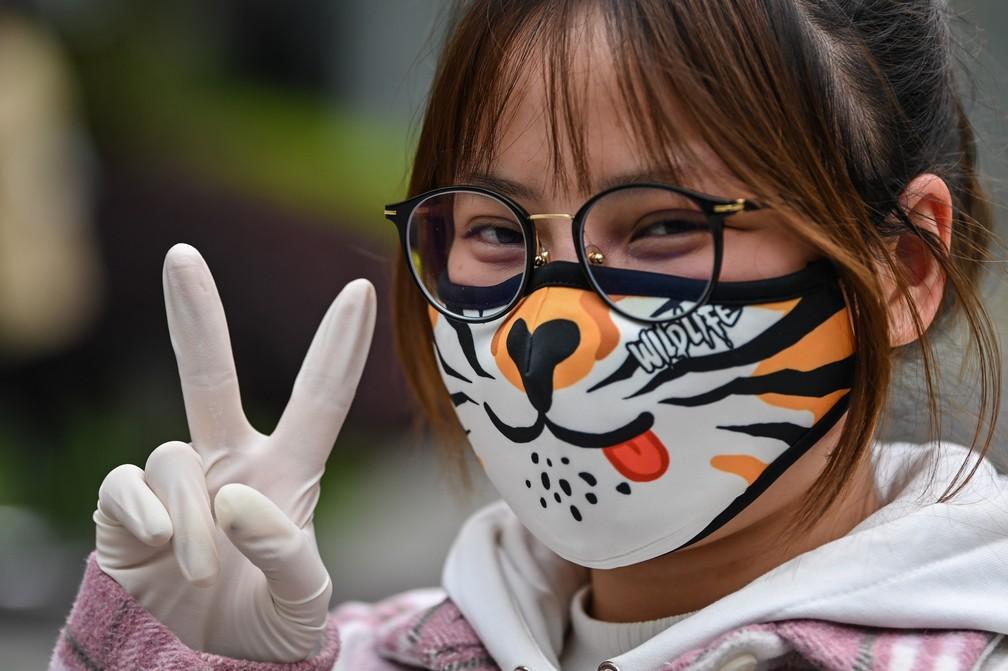 Máscaras de proteção de vários estilos; FOTOS | Coronavírus | G1