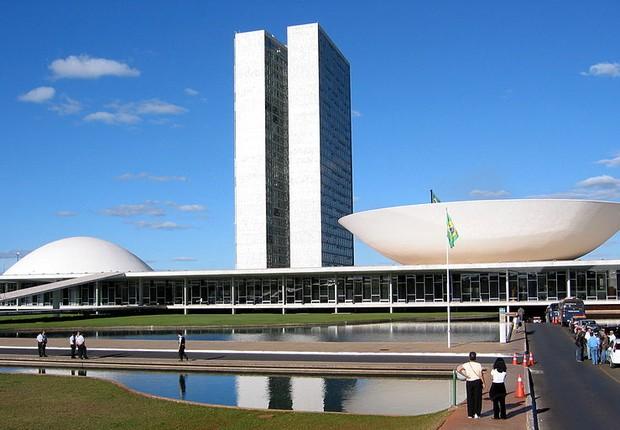 Congresso Nacional Brasília Deputados Políticos (Foto: Wikimedia Commons)