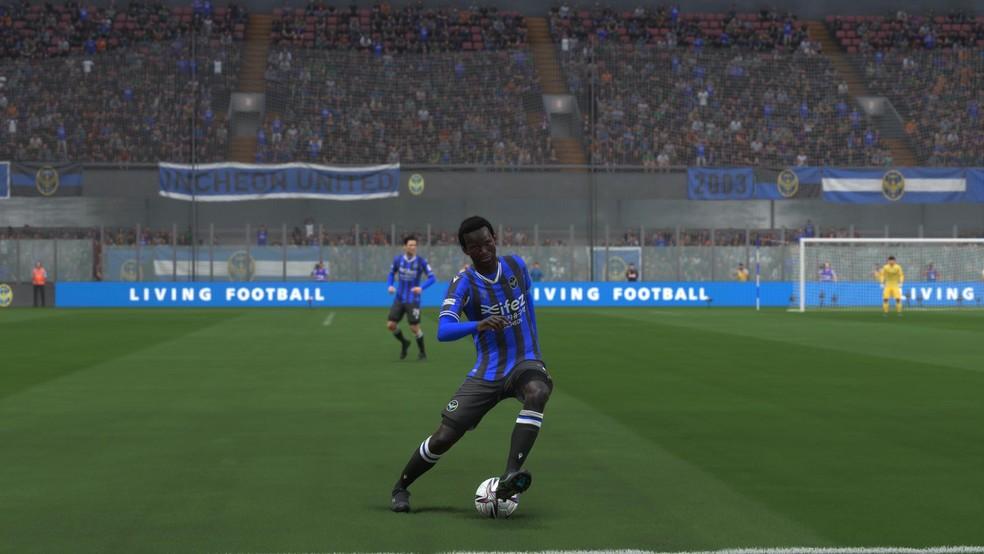 Negueba dentro do FIFA 22 — Foto: Reprodução