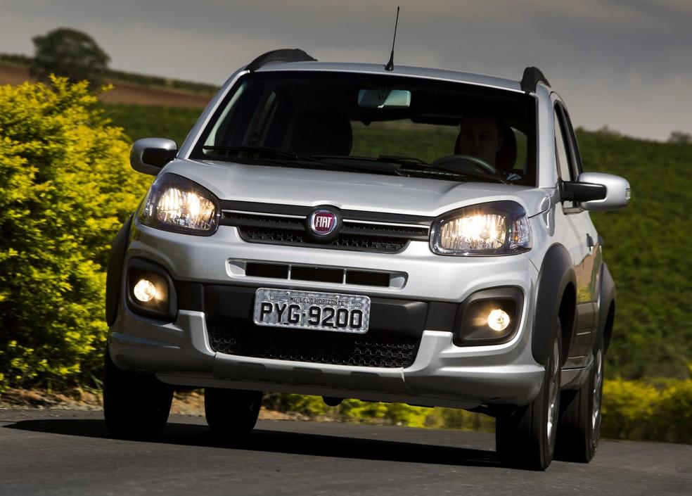 Fiat Uno Way (Foto: Divulgação)