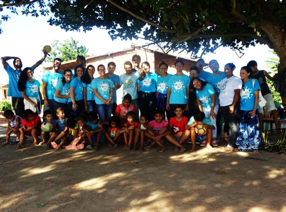 Trilha Potiguares é um programa de extensão com efetiva interação entre a UFRN e os municípios do estado  — Foto: Julia Cruz