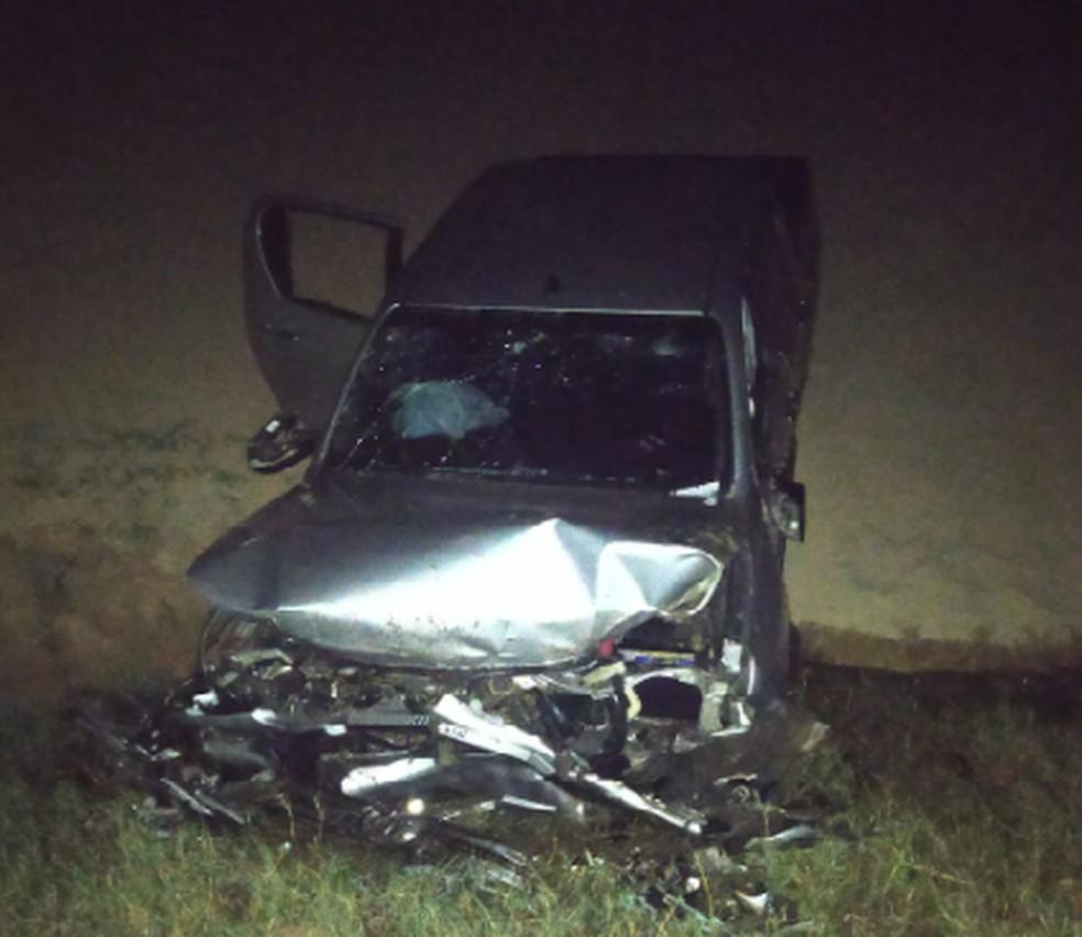 Carro capotou nas dunas do Cumbuco; quatro pessoas ficaram feridas. — Foto: Reprodução