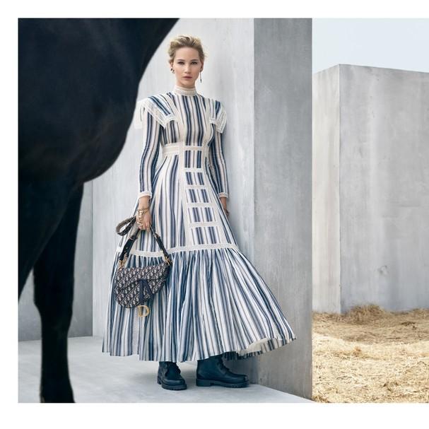 Jennifer Lawrence estrela campanha da Dior (Foto: Divulgação)