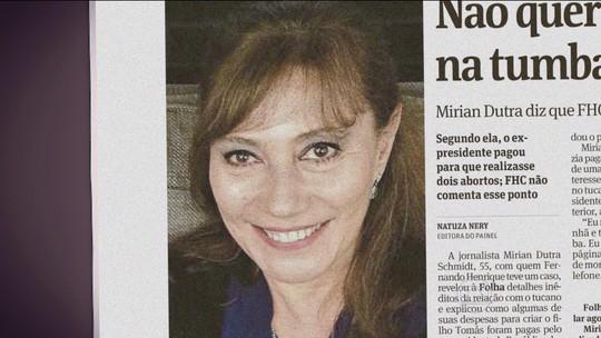Miriam Dutra presta depoimento na sede da Polícia Federal em São Paulo