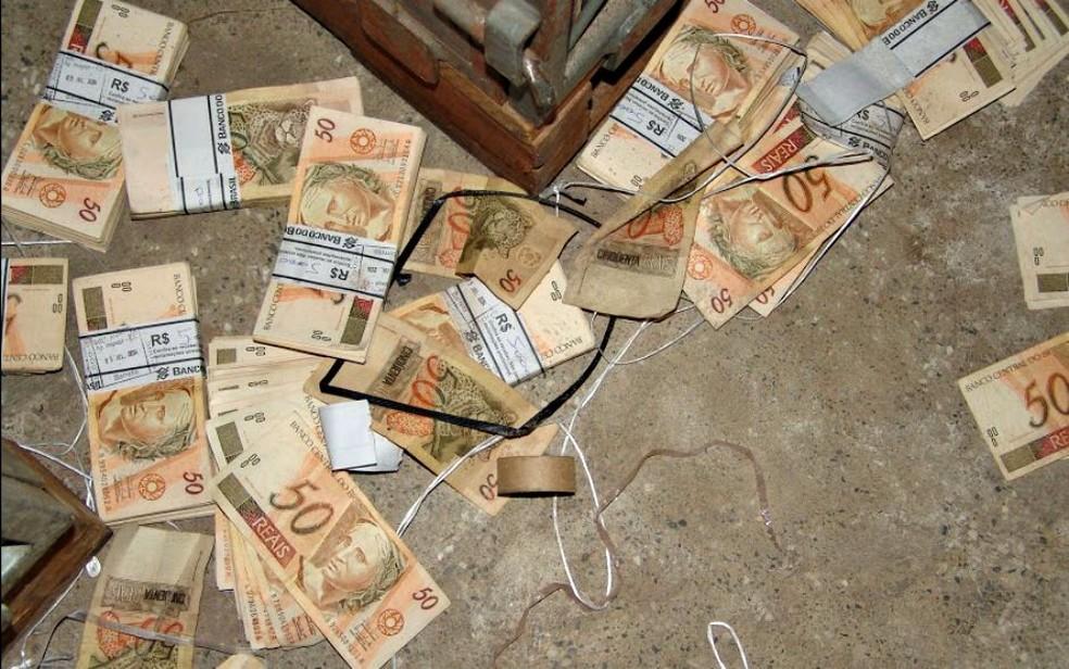Túnel usado no assalto ao Banco Central, em Fortaleza. — Foto: Divulgação