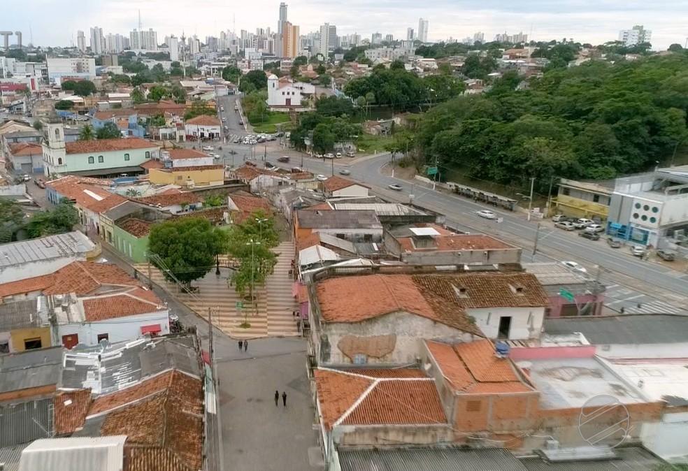 Ruas ainda tem casarões do início da cidade — Foto: TVCA/ Reprodução