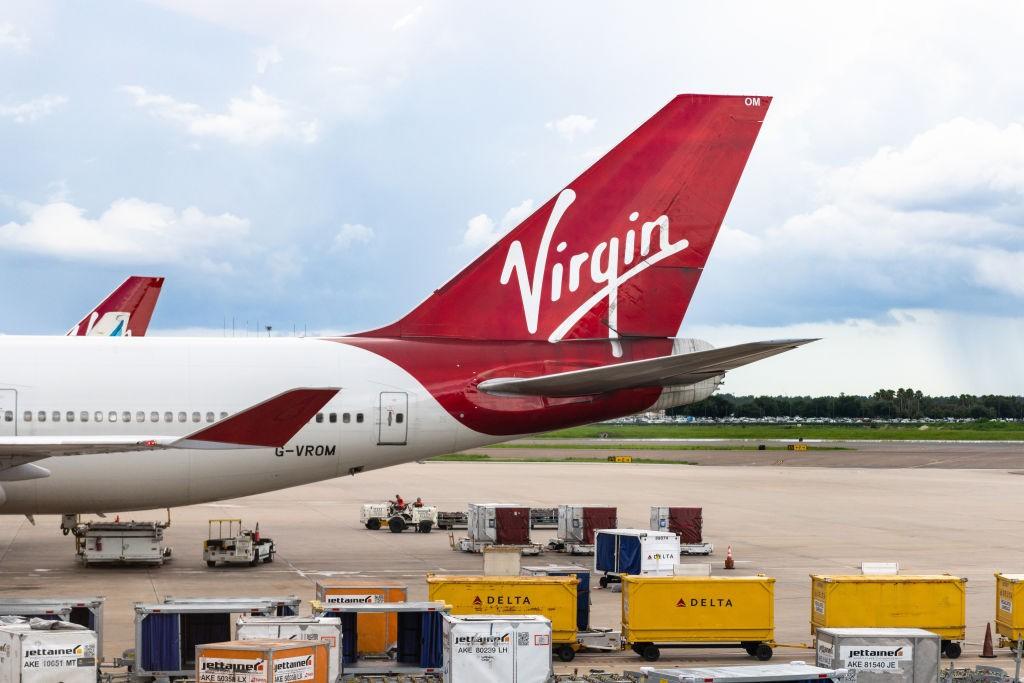 Avião da Virgin Atlantic (Foto: Roberto Machado Noa/LightRocket via Getty Images)