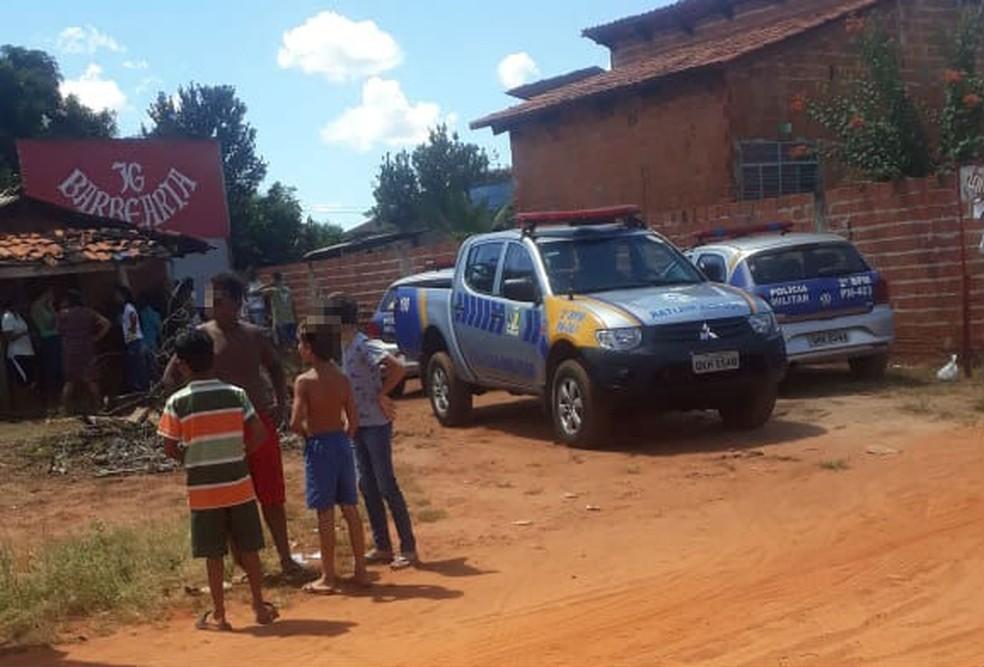 Crime aconteceu no setor Monte Sinai — Foto: Divulgação