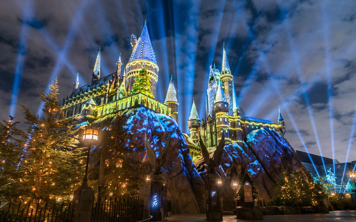 O Castelo de Hogwarts no Islands of Adventure (Foto: Divulgação)