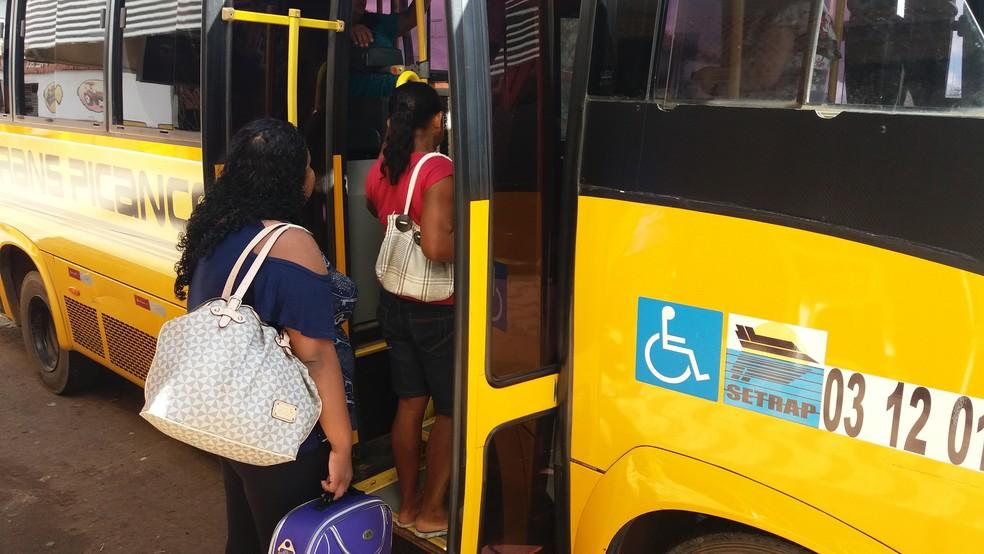 -  Procura por passagens de Macapá com destino à Mazagão aumenta no mês de julho  Foto: Jorge Abreu/G1