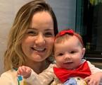 Tatyane Goulart com a filha, Catarina | Reprodução Instagram