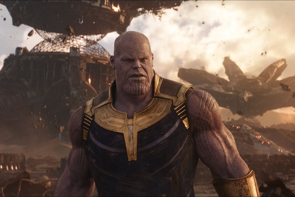 """Josh Brolin como Thanos em """"Vingadores: Guerra Infinita"""" (Foto: Divulgação)"""