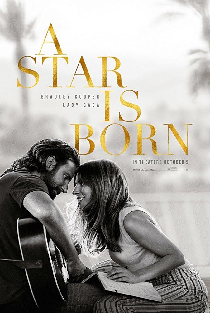 Bradley Cooper e Lady Gaga no pôster de A Star is Born (Foto: Divulgação)