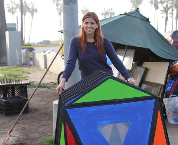 Arquiteta cria abrigos para moradores de rua usando origami (Foto: Divulgação)