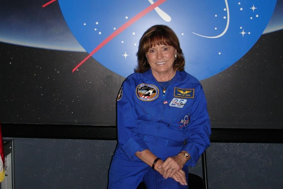 Anna Lee Fisher, ex-astronauta da NASA e primeira mãe a participar de uma missão no espaço — Foto: Sesc-DF/ Divulgação