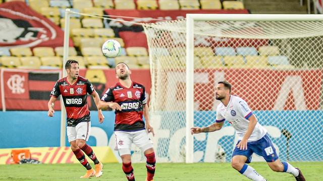 Everton Ribeiro em Flamengo x Bahia