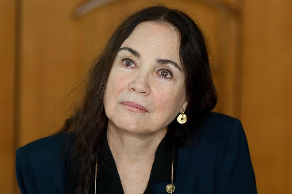 Regina Duarte — Foto: Isac Nóbrega / PR